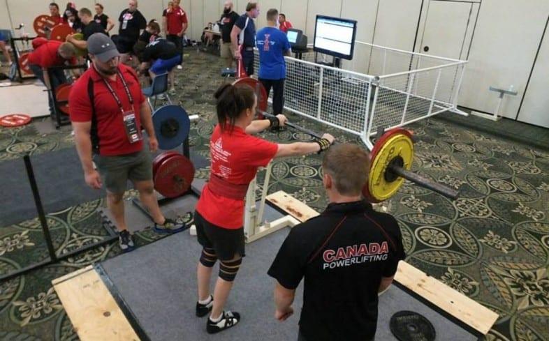 how do powerlifting meets work: warm up procedure