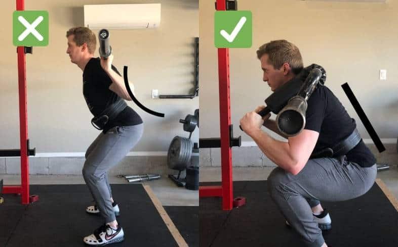 saftey bar squats pelvic position neutral