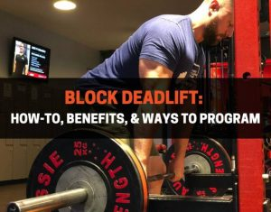 Block Deadlift