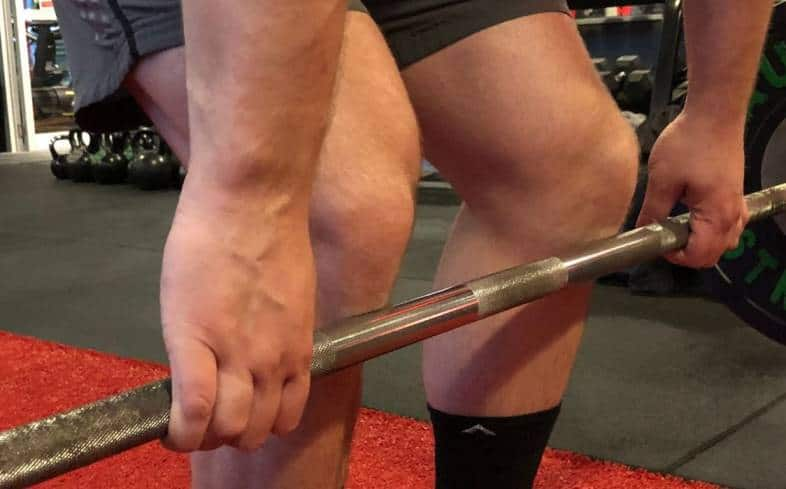 Block deadlifts will challenge and enhance your gripping capabilities