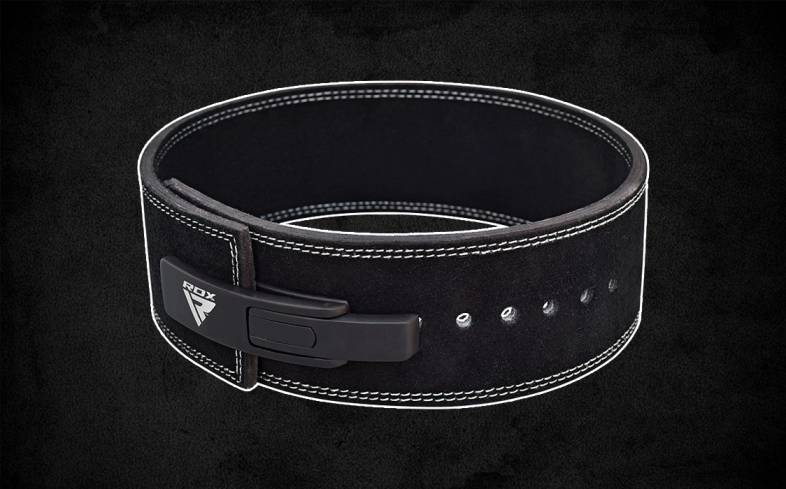 RDX belt is made with Nubuck leather which is sufficiently rigid but doesn't stretch or tear under heavier loads