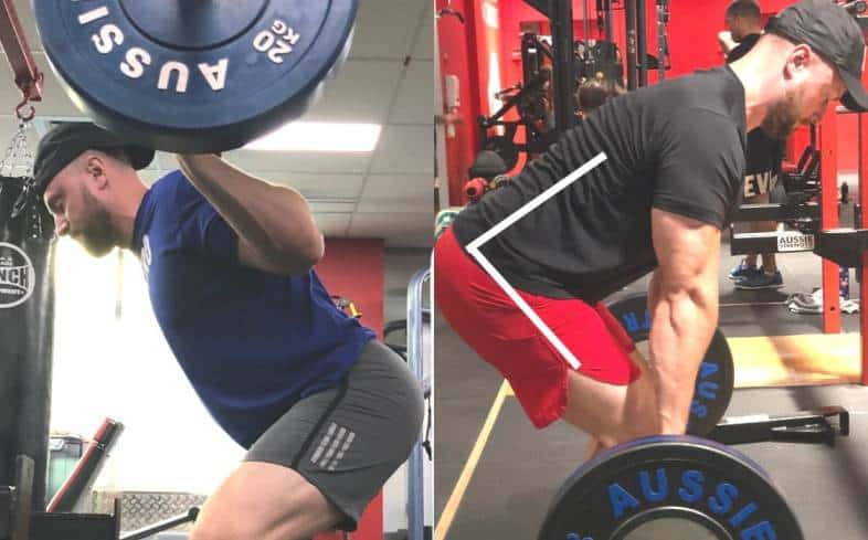 implement the other lift on another day where there is at least a day between training the squat and deadlift