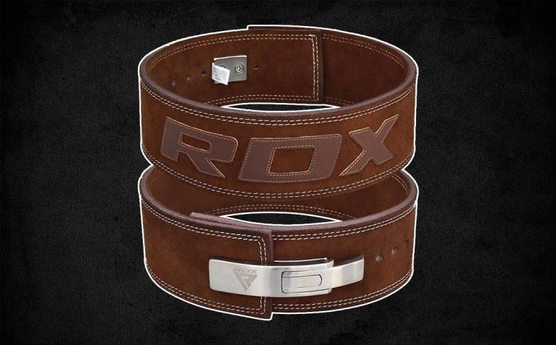 RDX Lifting Belt is one of the most fashionable belts currently on the market