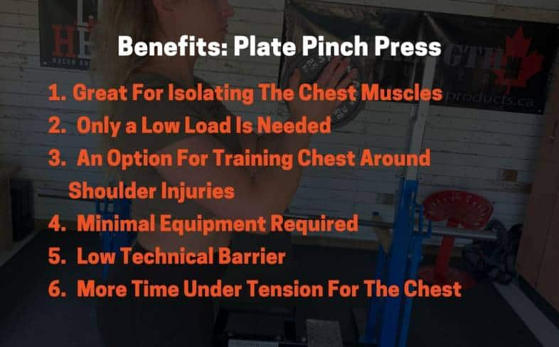 6 unique benefits to performing the plate pinch press