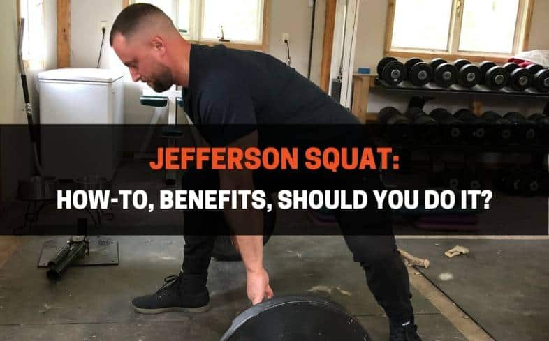 Jefferson squat is one of the most odd-looking lower body exercises that which increases the stability and core strength demands