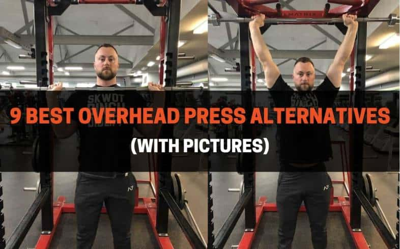 the overhead press is one of the best exercises to improve the development of your shoulders.  This article will discuss alternatives to the overhead press.