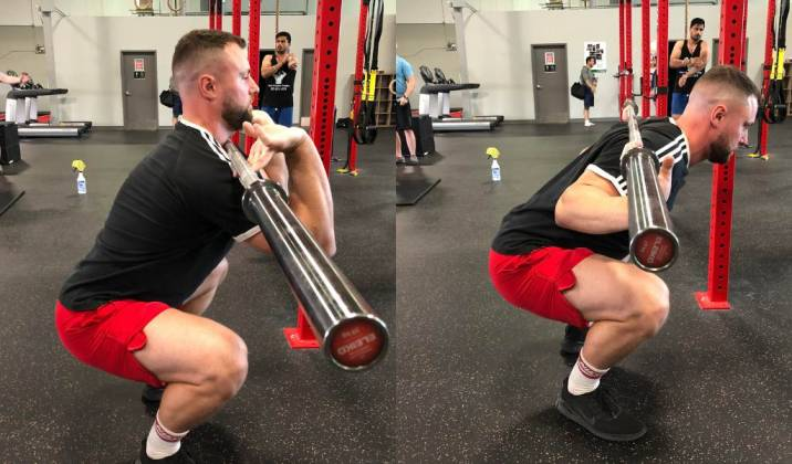 if your back angle is too horizontal to the floor, then you'll be placing unnecessary loading demand on your low-back