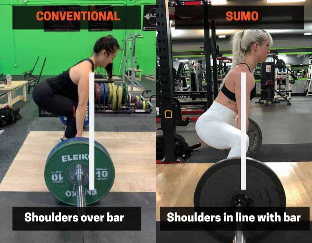 optimal hip position and torso angle in deadlift