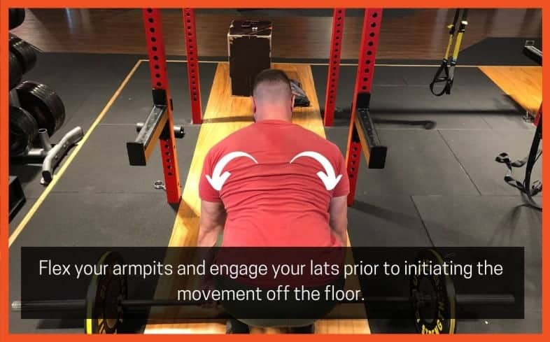 """the cue of """"flexing"""" your armpits is to ensure that your lats are tight throughout each stage of the movement, but in particular, the mid-range"""