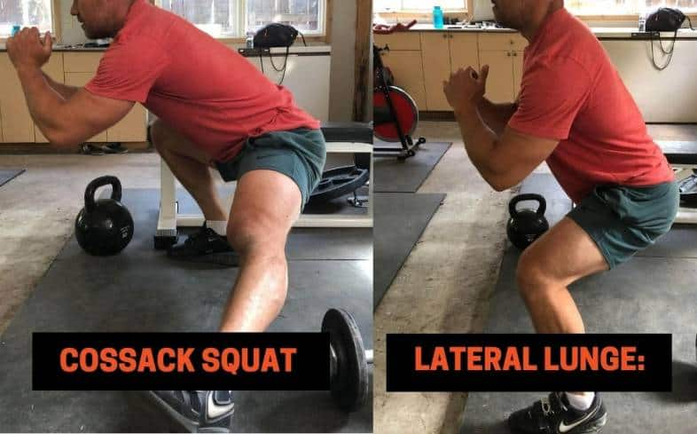 Difference #5 between the Cossack Squat vs lateral lunge - The Goals of Each Movement