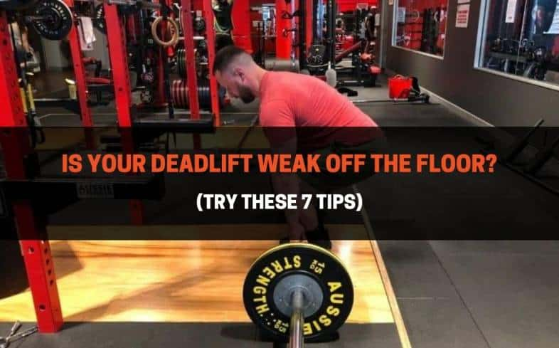 a weak point is a spot within the deadlift where you feel the barbell slowing down or a point in which you always fail under heavier loads.