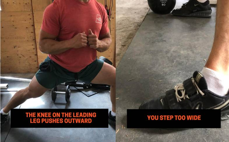 Lateral Lunge Mistakes