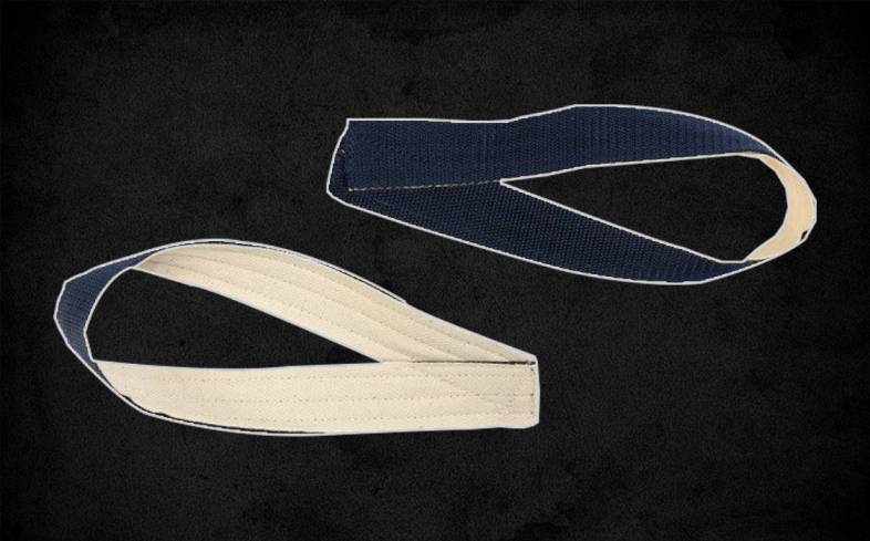 single loops are the baseline and arguably the most popular form of lifting straps