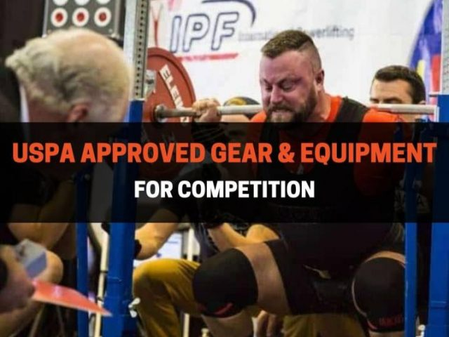 USPA Approved Gear & Equipment For Competition (2021)
