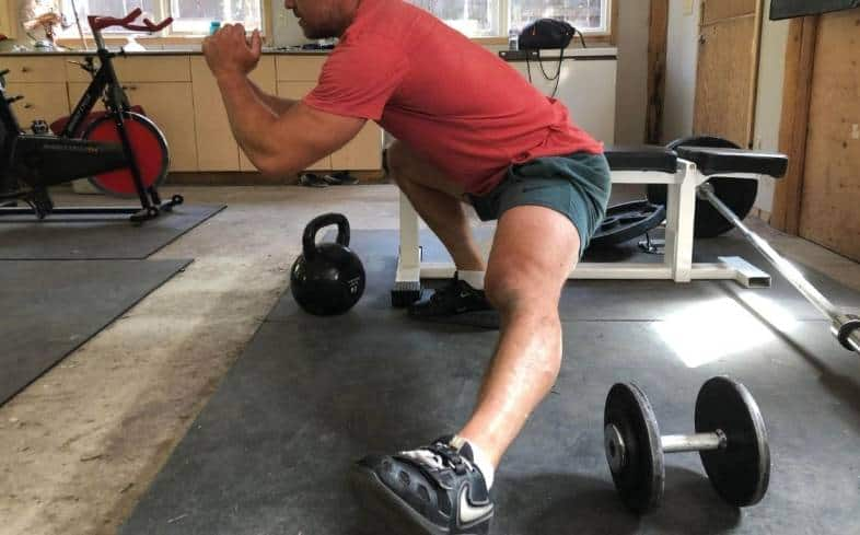 An effective Cossack squat substitute needs to target similar muscle groups to the Cossack squat and involve some single-leg aspect