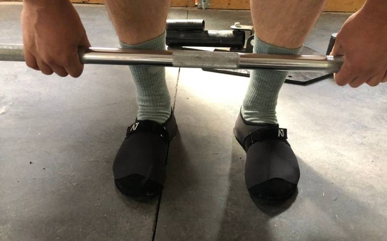 It's The Closest Thing You Can Get To Barefoot Deadlifting