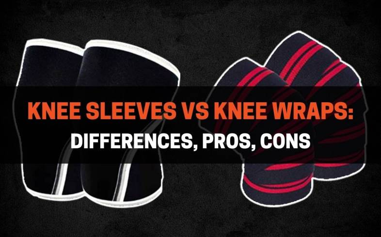 differences between knee sleeves vs knee wraps