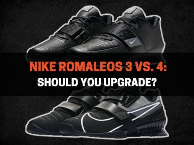 Nike Romaleos 3 vs. 4: Should You Upgrade?