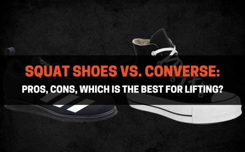 squat shoes vs converse