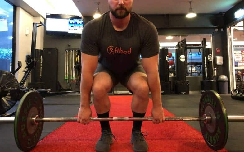 every tall lifter should pay particularly close attention to how far apart their feet are in the deadlift