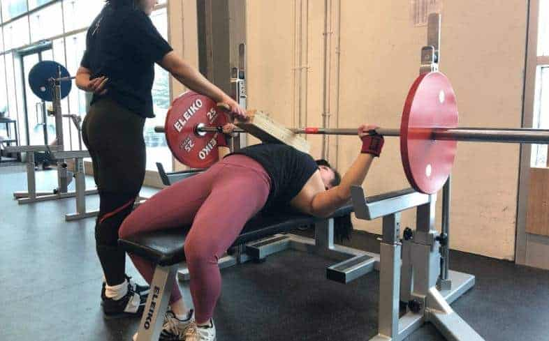2-board bench press can be used to develop mid-range strength