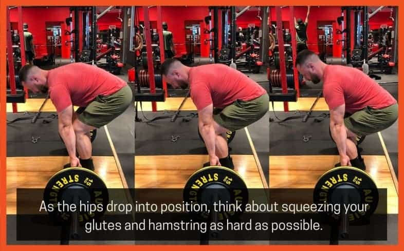to activate your quads off the floor, you need to think about cueing them so they are turned on prior to initiating the lift