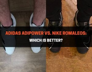 Adidas Adipower vs Nike Romaleos - Which Is Better