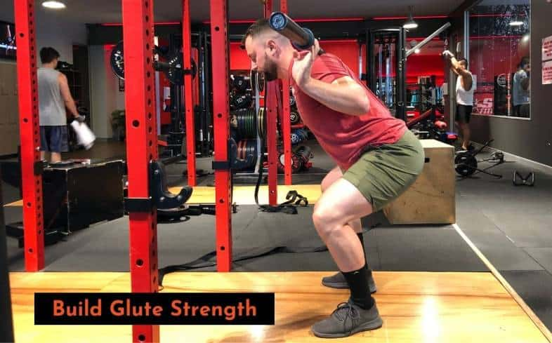 building glute strength for the squat lockout