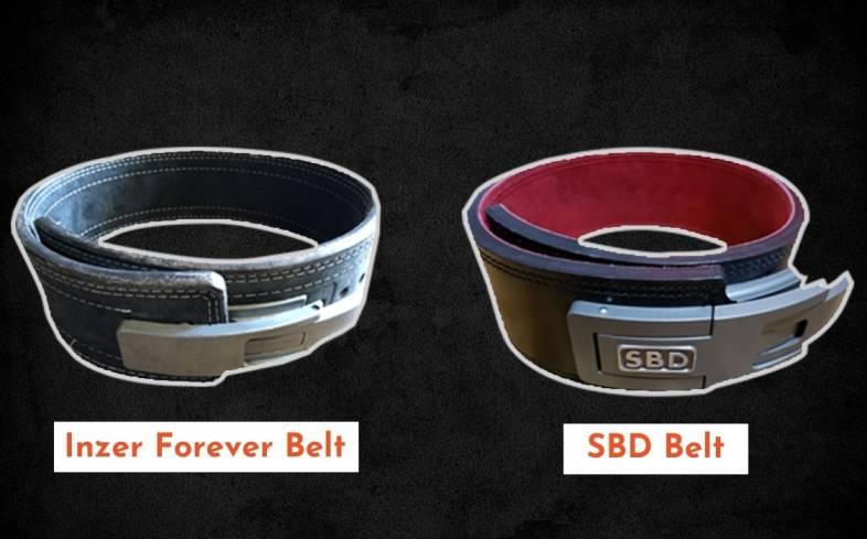 Inzer Belt vs SBD design comparison
