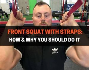 Front Squat With Straps