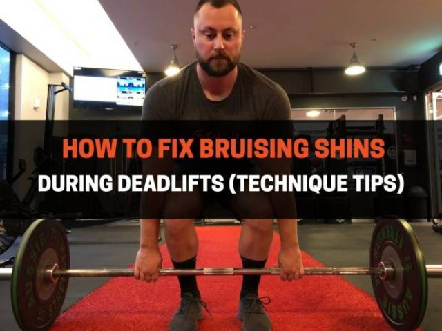 How To Fix Bruising Shins During Deadlifts (Technique Tips)
