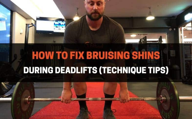 The Reason Why You Get Bruised Shins In The Deadlift