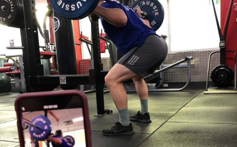 sample narrow stance squat program you can use for building muscle
