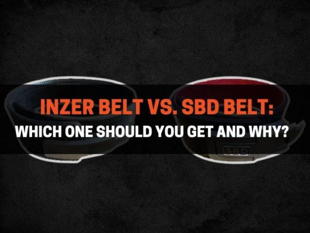 Inzer Belt vs. SBD Belt: Which One Should You Get and Why?