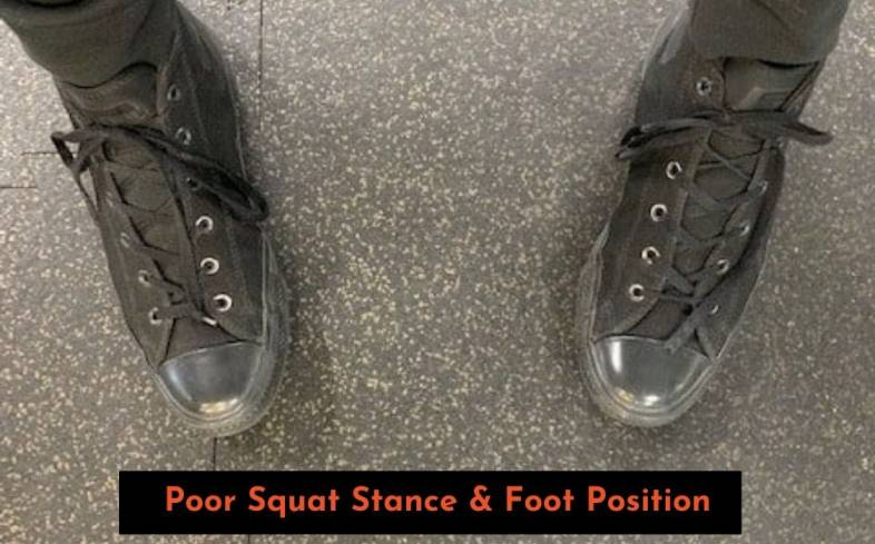 picking a squat stance and foot position for squats is something that is individual based on how you're built and your level of ankle/hip mobility