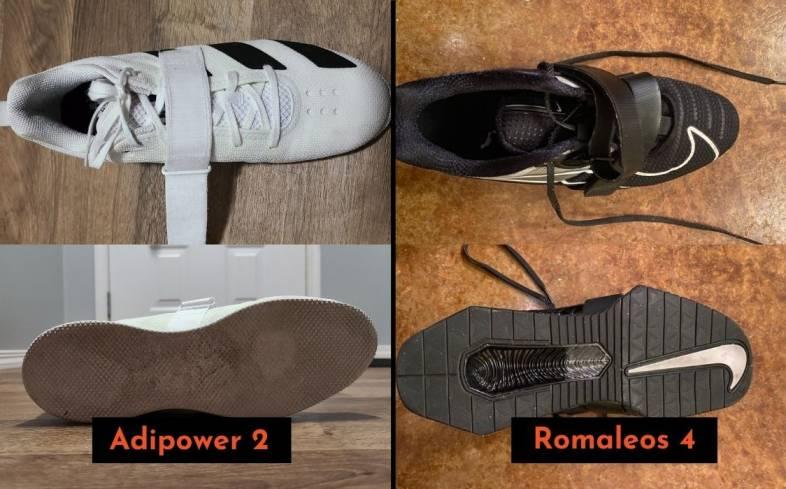 Quick Overview of Adidas Adipower vs Nike Romaleos