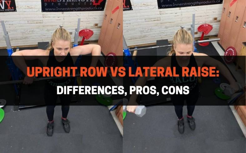 The Difference Between an Upright Row and Lateral Raise