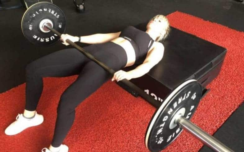 a great alternative to the barbell hip thrust will target similar muscle groups as those in the barbell hip thrust