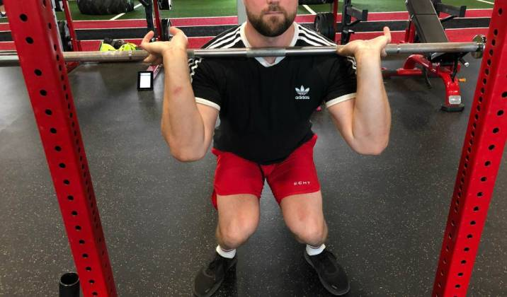 most common faults in the front squat