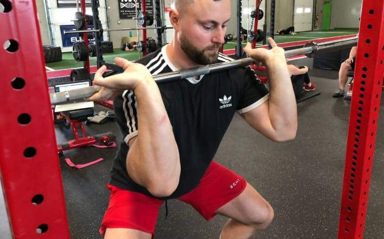 some of the cons of the front squat