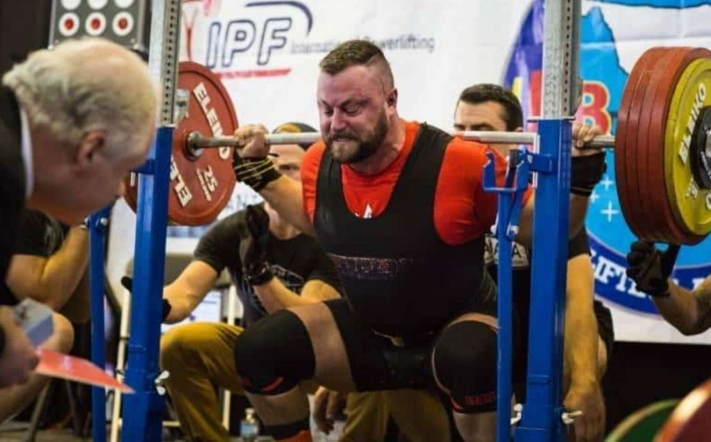training was intended to get your squat as strong as possible