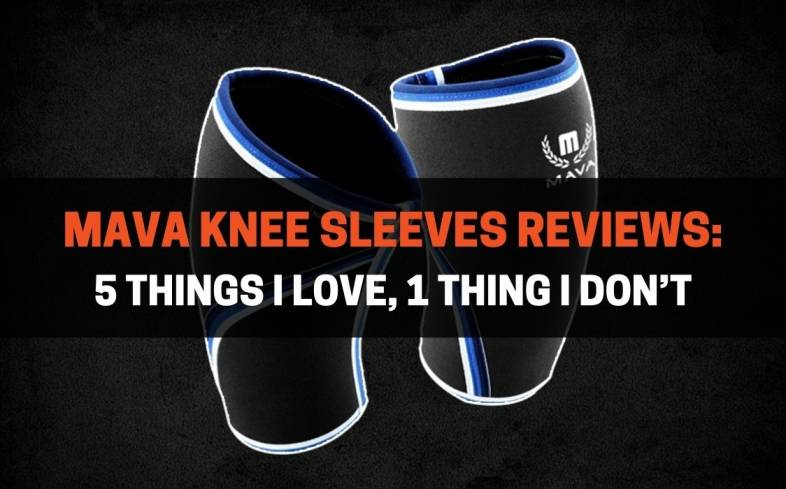 Mava produces plenty of knee sleeves