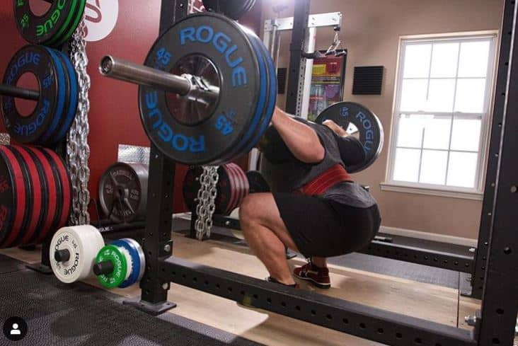 squatting every day meant that the squats done every day was performed to a daily max single