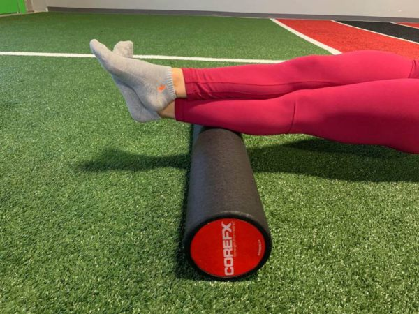 foam rolling your calf muscles