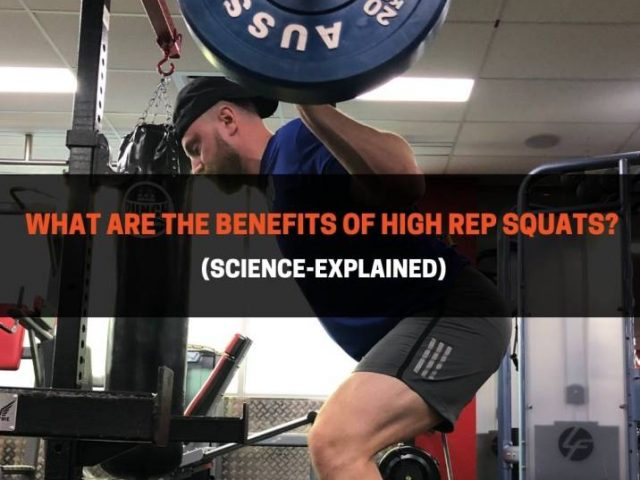 What Are The Benefits of High Rep Squats? (Science-Explained)