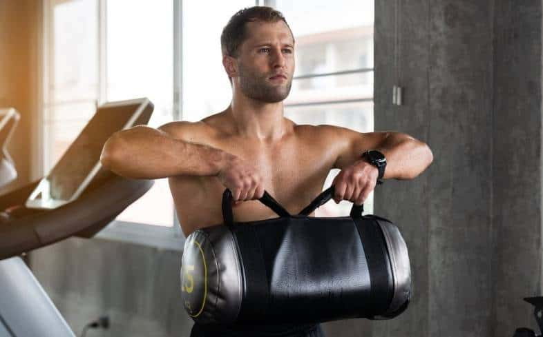 the primary function of a sandbag filler is being a basic counterweight for resistance training