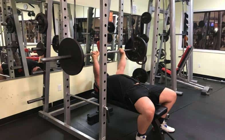 three main benefits to training your bench press with reverse bands