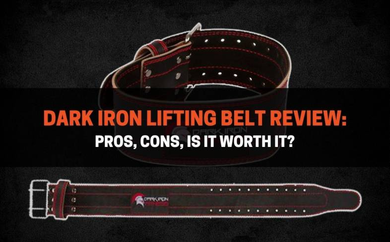 dark iron lifting belt review