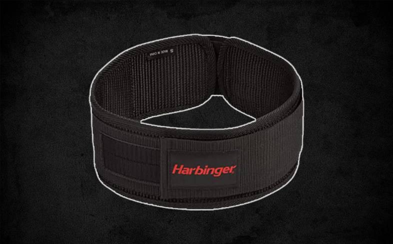 harbinger 4-inch nylon belt review