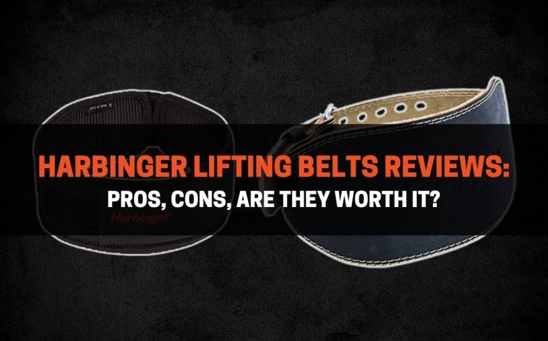 two of the best Harbinger lifting belts reviews